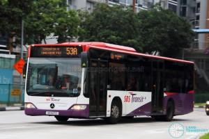SBST Mercedes-Benz O530 Citaro (SG1147S) - Service 53A