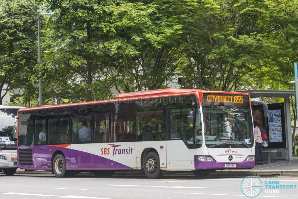 SBST Mercedes-Benz Citaro (SG1149L) - Service 655