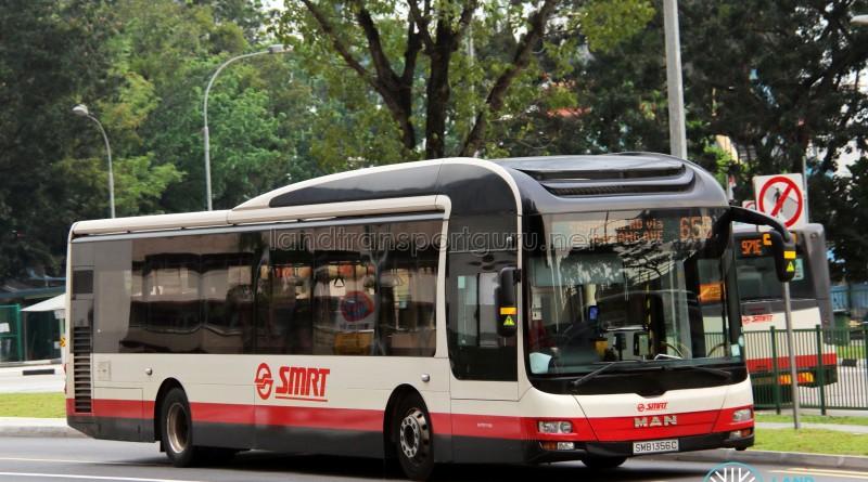SMRT MAN NL323F A22 (SMB1356C) - Service 656