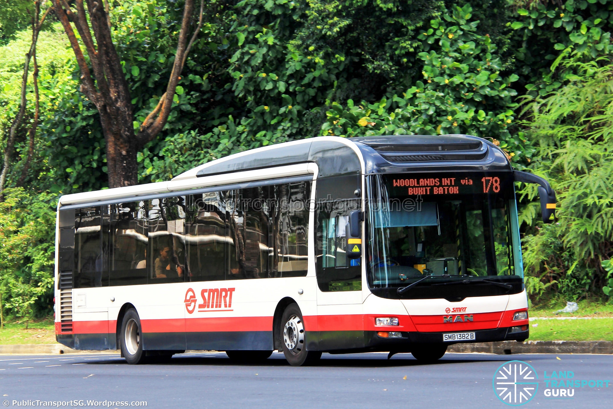 Uni-Directional Amendment of Bus Services 160 & 178 along