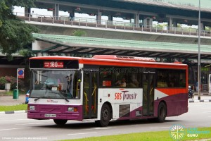 SBS Transit Volvo B10M Mark IV DM3500 (SBS2748P) - Service 160