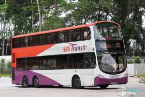 SBS Transit Volvo B9TL Wright (SBS3068L) - Service 25