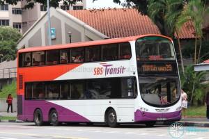 SBS Transit Volvo B9TL Wright (SBS3071B) - Service 25