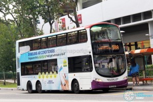 Volvo B9TL Wright (SBS3148P) - Service 58A