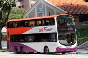 SBS Transit Volvo B9TL Wright (SBS3212L) - Service 25