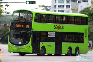 Go-Ahead Volvo B9TL Wright (SBS3303H) - Service 83