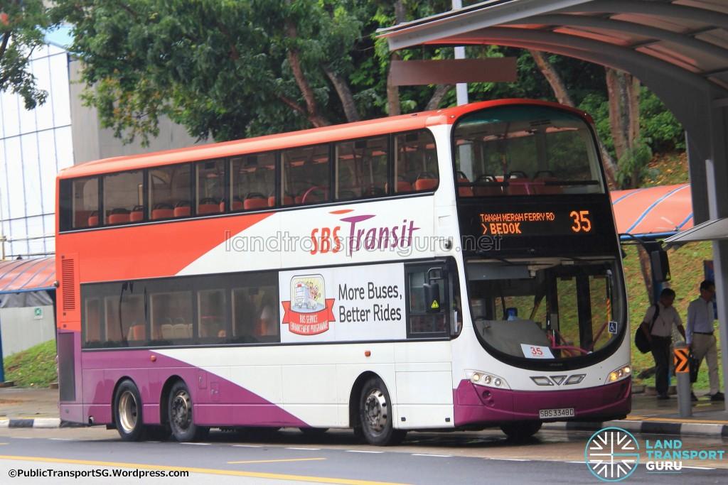 SBS Transit Volvo B9TL Wright (SBS3348D) - Service 35