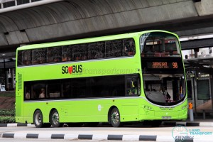 Tower Transit Volvo B9TL Wright (SBS3387R) - Service 98