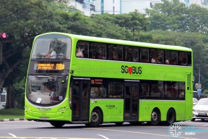 Go-Ahead Volvo B9TL Wright (SBS3498D) - Service 118B