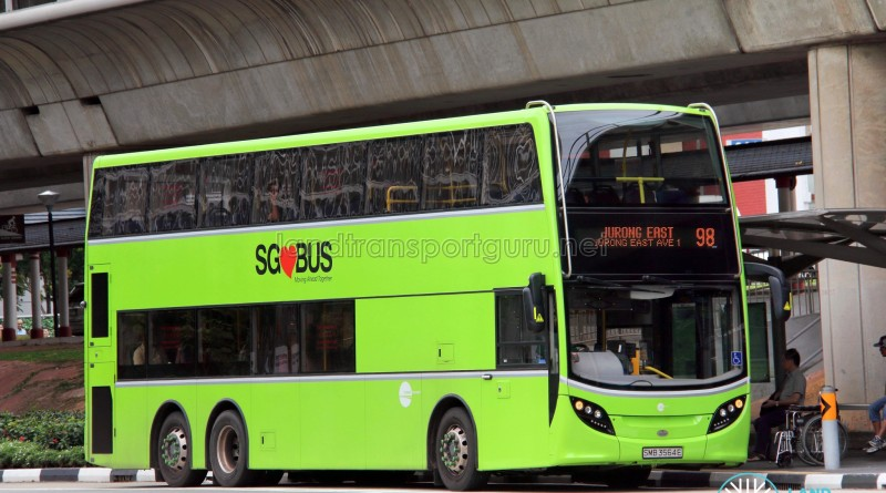 Tower Transit Alexander Dennis Enviro500 (SMB3564E) - Service 98