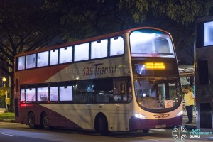SBS Transit Volvo B9TL Wright (SBS3662X): Lakeside – Boon Lay Parallel Bus Service (April 2017)