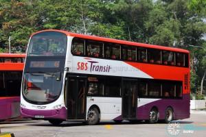 SBST Volvo B9TL Wright (SBS3839D) - Service 46