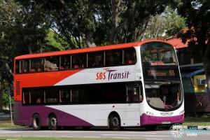 SBS Transit Volvo B9TL Wright (SBS3906T) - Service 55
