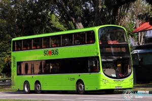 Go-Ahead Volvo B9TL Wright (SBS3976R) - Service 43
