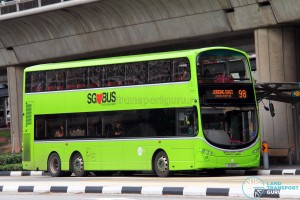 Tower Transit Volvo B9TL Wright (SG5011Z) - Service 98