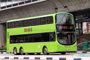 Tower Transit Volvo B9TL Wright (SG5021U) - Service 41