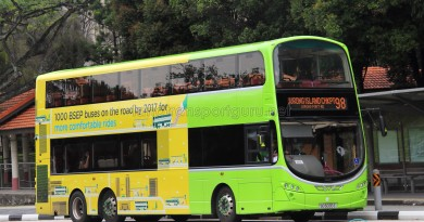 Tower Transit Volvo B9TL Wright (SG5035E) - Service 98