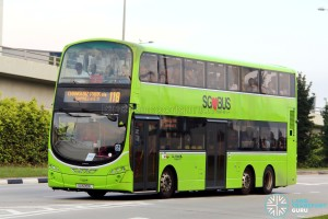Go-Ahead Volvo B9TL Wright (SG5059L) - Service 118