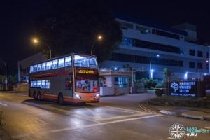 SMRT Alexander Dennis Enviro500 (SMB5079B) - Joo Koon - Lakeside Parallel Bus Service