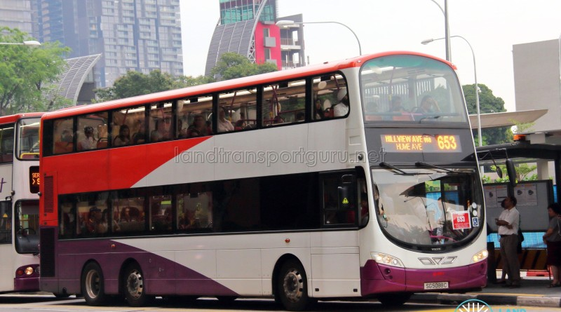 SMRT Volvo B9TL Wright (SG5088C) - City Direct 653