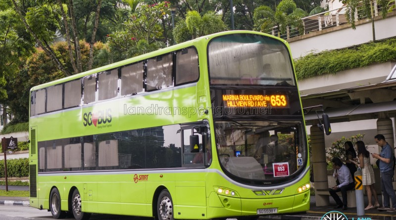 SMRT Volvo B9TL Wright (SG5598Y) - City Direct 653