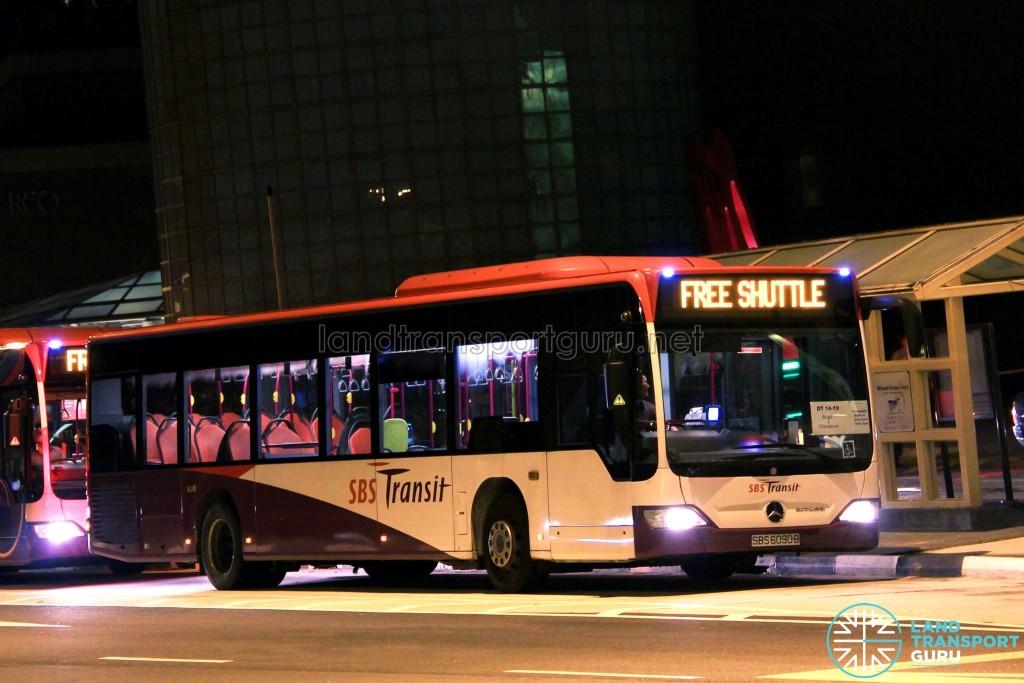 SBST Mercedes-Benz O530 Citaro (SBS6090B) - DTL Bridging Bus