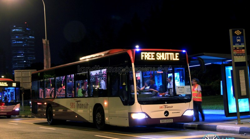 SBST Mercedes-Benz O530 Citaro (SBS6100G) - DTL Bridging Bus