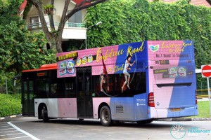 SBS Transit Mercedes-Benz Citaro (SBS6127E) with 2D advertising