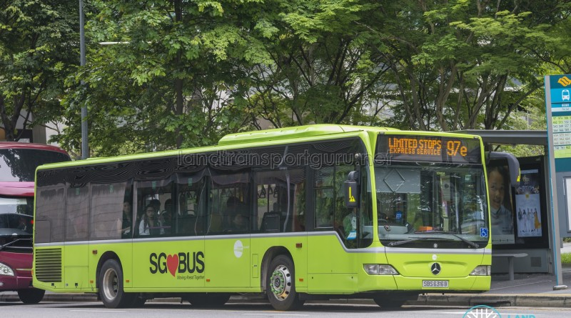 Tower Transit Mercedes-Benz Citaro (SBS6316B) - Express Service 97e