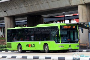 Tower Transit Mercedes-Benz Citaro (SBS6321K) - Service 41