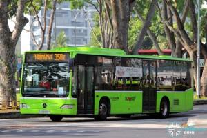 Go-Ahead Mercedes-Benz Citaro (SBS6400R) - Service 358T