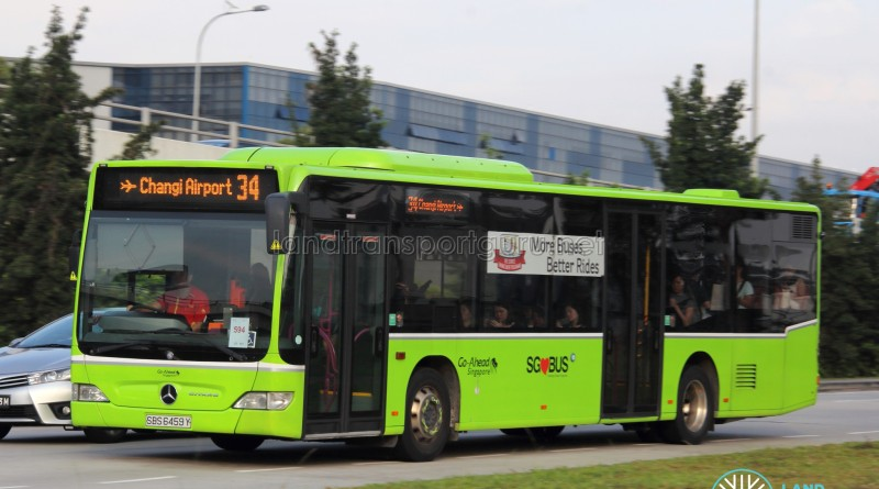 Go-Ahead Mercedes-Benz Citaro (SBS6459Y) - Service 34