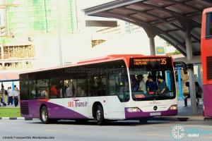 SBST Mercedes-Benz O530 Citaro (SBS6501H) - Service 35