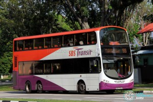SBS Transit Volvo B9TL Wright (SBS7724A) - Service 55
