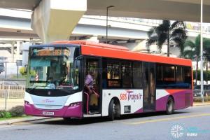 SBS Transit Scania K230UB (SBS8191E) - Service 160