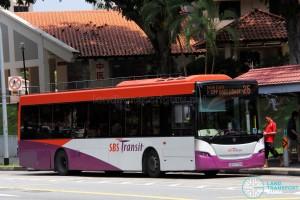 SBS Transit Scania K230UB Euro V (SBS8708R) - Service 25