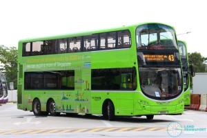 Go-Ahead Volvo B9TL Wright (SBS9C) - Service 43