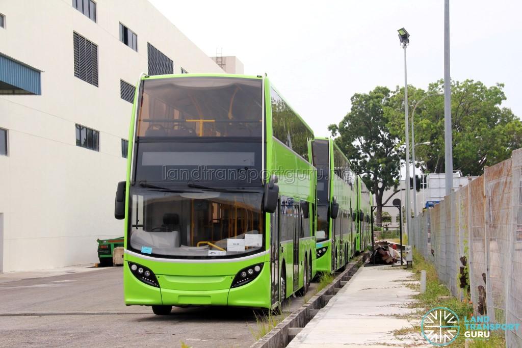 Alexander Dennis Enviro500 - Unregistered buses in storage
