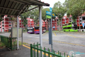 Changi Village Bus Terminal - Passenger boarding and alighting point