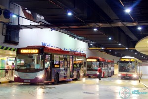 East-West Line Free Shuttle (Tanah Merah - Changi Airport)