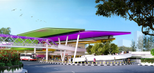 Gali Batu Bus Interchange (Artist's Impression) - Bus movement area