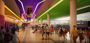 Gali Batu Bus Interchange (Artist's Impression) - Concourse