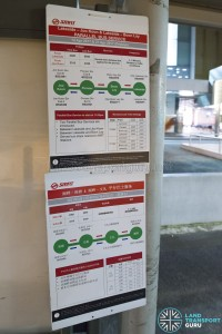 Lakeside - Joo Koon Parallel Bus Service Route Poster