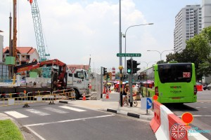 Joo Chiat Road - Cordoned off from Marine Parade Road