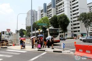 Joo Chiat Road - Cordoned off from Marine Parade Road