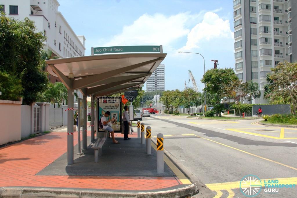 Bus Stop 92189 (Opp 112 Katong) along Joo Chiat Road. Temporary closed from 9 April 2017 onwards.