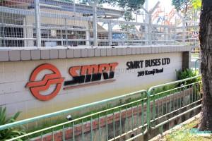 Kranji Bus Depot - Entrance signage