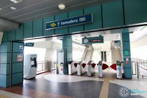 Punggol LRT - Samudera Station - Faregates