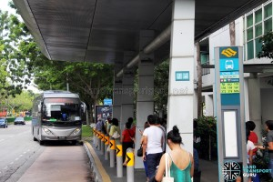 Sengkang MRT Pickup Point for Parkway Parade Shuttle