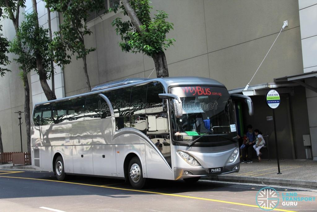 Parkway Parade Shuttle - Sengkang Route - PA616D